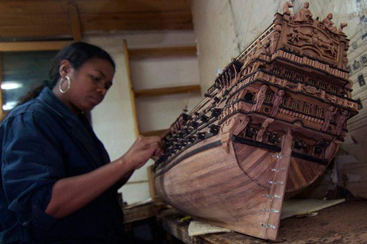 Technique de fabrication des maquettes de bateaux