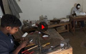 Atelier sculptures ferrures