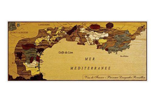 Carte des Vins de France - Provence