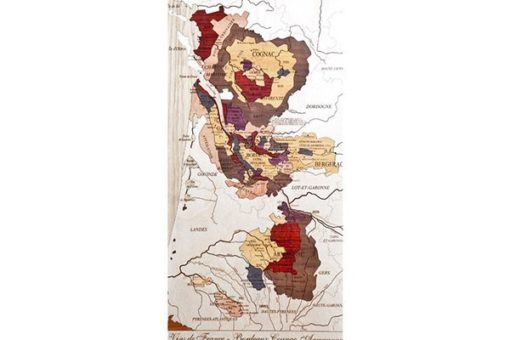 Carte des Vins de France - Bordeaux