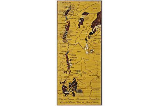 Carte des Vins de France - Bourgogne