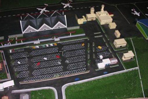 Maquette Aéroport Ivato