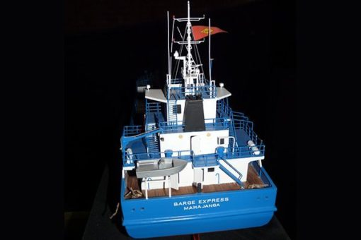 Maquette Barge