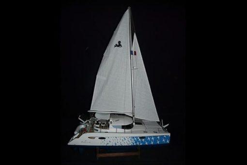 Maquette Catamaran Lavezzi