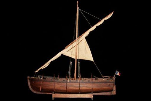 Maquette Chaloupe Armée