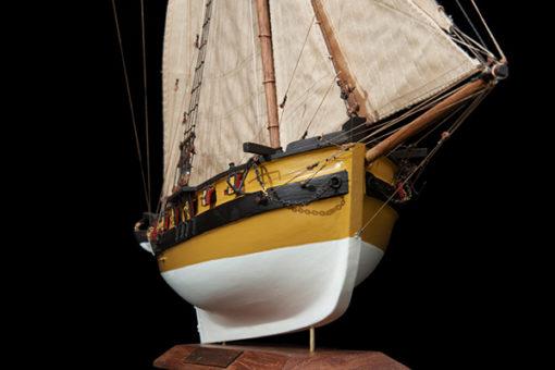 Maquette Le Renard de Surcouf