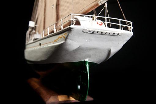 Maquette La BELLE POULE