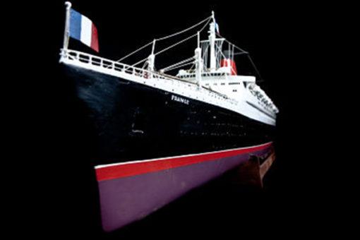 Maquette le Paquebot France