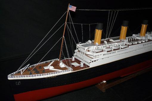 Maquette le Titanic