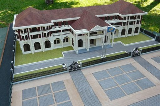 Maquette Mairie d'Antananarivo