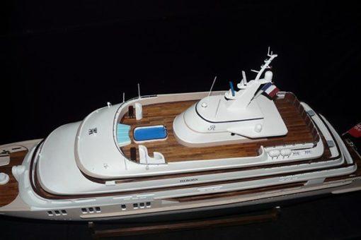 Maquette Yacht de luxe